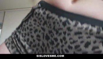Petite teen babe Adria Rae gets banged by big hard cock