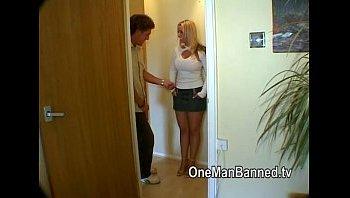 Hot pick up girl Carla driving men crazy scene 2